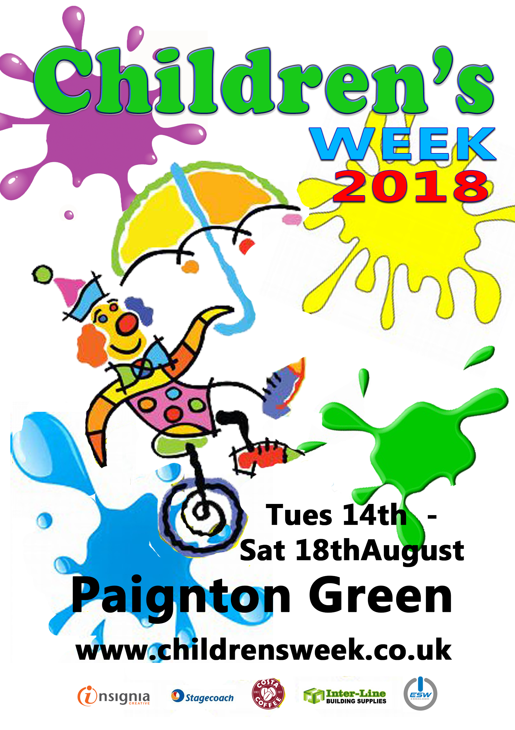 Paignton\'s Children\'s Week 2018 - Whats On South West